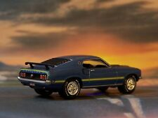 1969 69 FORD MUSTANG MACH 1 COLLECTIBLE 1/64 SCALE DIECAST DIORAMA MODEL