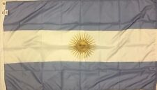 Allied Flag Outdoor Nylon Argentina Country Flag, 3-Feet by 5-Feet With Seal