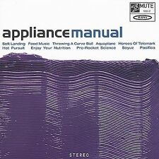 Manual by Appliance (CD, Oct-1999, Mute)