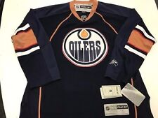 NEW REEBOK PREMIER EDMONTON OILERS JERSEY MENS XL NEW W/TAGS