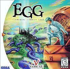 EGG: Elemental Gimmick Gear (Sega Dreamcast, 1999) - Japanese Version