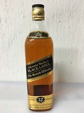 Johnnie Walker Black Label 12yo Extra Special 75cl 1970-1980 ? Vintage