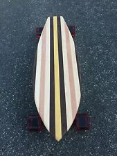 "Skateboard made of Solid Wood - ""Cocoa"" with many woods"