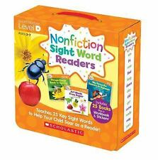 Nonfiction Sight Word Readers Parent Pack 4 : Teaches 25 Key Sight Words to...