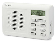 Pure One Mi Series II DAB FM Numérique Portable Radio Blanc