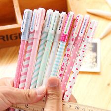 10 farbige Kugelschreiber für Mädchen Schule Bunt Rosa Stifte Fineliner Set 0.38