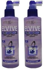 2 x LOREAL ELVIVE 200mL HAIR ROOT LIFT SPRAY LEAVE IN VOLUME COLLAGEN Brand New