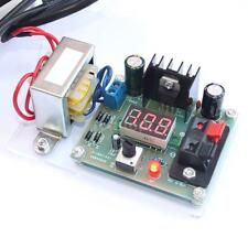 LM317 Adjustable Regulated Voltage Power Supply DIY Kit with Transformer US U4J2