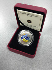 2010 Canada $0.25 Colored Coin - Birds of Canada: Blue Jay