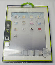 IFROGZ BACKBONE CASE FOR IPAD 2/3/4 (GRAY) - IPAD2-BAK-GRY