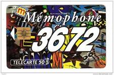 358 F358 - TELECARTE 50 - 05/1993 - MEMOPHONE 36.72 Patchwork