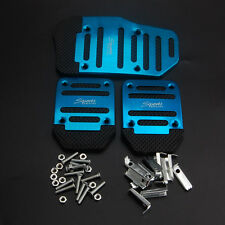 3x Anti-slip Manual SUV Treadle Brake Accelerator Foot Rest Pedal Pad Covers
