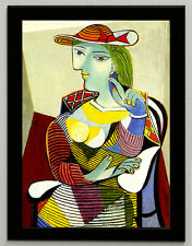 """Pablo Picasso """"MARIE THERESE WALTER"""", 1937, framed, CANVAS PRINT painting copy"""