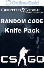 Counter Strike Global Offensive - Random Knife Skin Key - CSGO STEAM Code EU UK