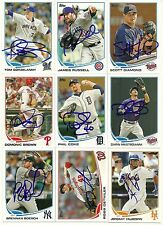 2013 Topps PHIL COKE Signed Card auto TIGERS YANKEES SUGARPINE, Ca