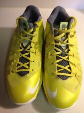 Nike Air Max Lebron X 10 Low Mens 579765-700 Sonic Yellow Basketball Size 10