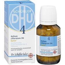 BIOCHEMIE DHU 4 Kalium chlorat. D 6 Karto Tabl. 200St PZN: 6326547