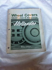 HOLLANDER WHEEL BOOK MANUAL EDIT 61 1995 216 PGS FOREIGN DOMESTIC AUTO TRUCK INT