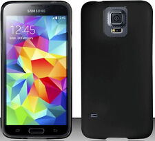 BLACK TPU PROTECTOR GEL CASE for SAMSUNG GALAXY S5 SV (T-MOBILE) SM-G900T