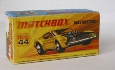 Repro Box Matchbox Superfast Nr.44 Boss Mustang