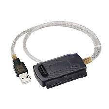 """INTERFACCIA IDE SATA ATA USB 2.0 ADATTATORE HARD DISK 3,5"""" 2,5"""" MASTERIZZATORI"""