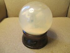 "SCHMID SNOW GLOBE WITH LAMB INSIDE PLAYS ""WINTER WONDERLAND"" 1982"