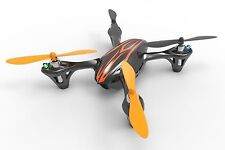Hubsan X4 (H107C) RC Quad Copter with Camera-Black/Orange... NEW w FREE SD CARD!