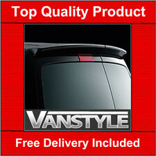 VW CADDY REAR TWIN BARN DOORS SPOILER GENUINE VW ACCESSORY NOT CHEAP FIBREGLASS