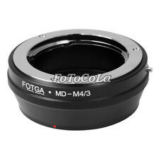 FOTGA Adapter for Minolta MD MC Lens to micro 4/3 M43 E-PM2 G5 G7 E-PL7 GF7 E-M5