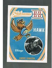 ANDRE DAWSON #N12 CHICAGO CUBS - Hawk - Nicknames 2013 panini Hometown Heroes