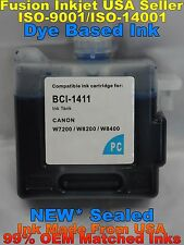 BCI-1411 Cartridges Canon W7200 W8200 W8400D Photo Cyan not oem pc dye ink vvvvv