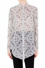 "Brand New SASS & BIDE   ""Neon Atomic""   Silk Shirt Blouse  -  Size 10  -  $490"