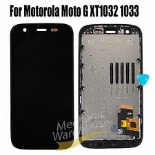 Black Motorola Moto G XT1032 XT1033 Full LCD Display Touch Screen Replacement UK