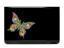 Butterfly Vinyl Laptop or Automotive Art sticker decal computer auto netbook