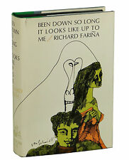 Been Down So Long It Looks Like Up To Me RICHARD FARINA ~ First Edition 1966 1st