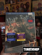 RARE! HARRY POTTER AND THE DEATHLY HALLOWS ULTIMATE EDITION BOX SET BLU RAY DVD