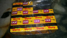 LOT OF 10 KODAK GOLD III 200 FILM BRAND NEW