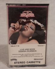 Donna Summer : Live And More - Cassette Tape Volume 1 Casablanca
