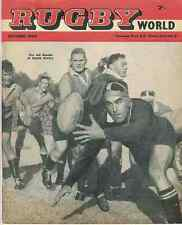 RAY Prosser pontypool + autres info à rugby world magazine octobre 1960 edition