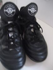 Big Boy 5 Youth Black NIKE TIEMPO 750 SOCCER Cleats SHOES Barely Worn!
