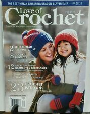 Love of Crochet Fall 2016 23 Crochet Patterns FREE SHIPPING