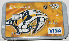 Nashville Predators Scotiabank Canada Visa Promotional Pin Magnet Attachment