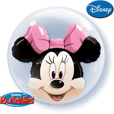 Minnie Mouse Double Bubble Balloon Birthday Party Decoration Supplies