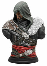 UBISOFT ASSASSIN'S CREED LEGACY COLLECTION EZIO THE MENTOR BUST STATUE NEW !!