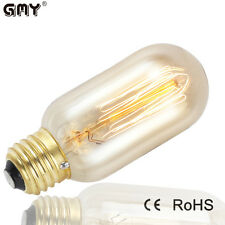 T45 Edison Radio Style 40W Dimmable Filament Light Bulb  Vintage Reproduction