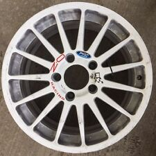 M-Sport World Rally Team Ford Fiesta RS WRC/R5 Used & Damaged White Tarmac Wheel
