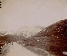 Suisse 1898 - Route de la Furka et le Galenstock - 124