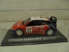 """IXO-Citroen Xsara WRC """"McRea"""" rally coche.. 1/43. modelo Diecast """"edición 3."""