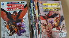 from JLA Teen titans new 52 comic lot 0 -18 annual 1 nm bagged