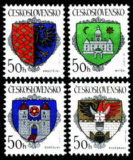 13114 Czechoslovakia 1990 COATS OF ARMS MNH